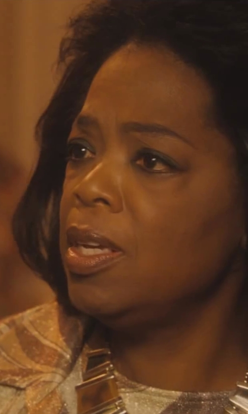 Oprah Winfrey with Tory Burch Cecily Short Necklace in Lee Daniels' The Butler