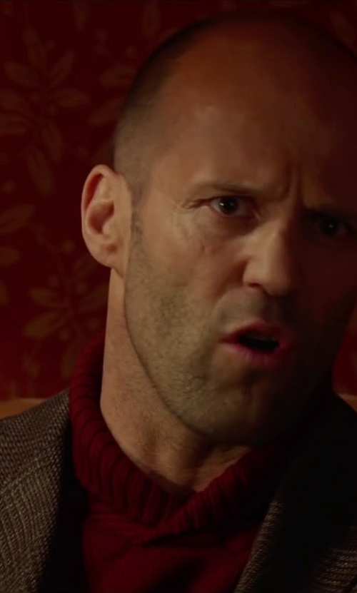 Jason Statham with Isaia Slim-Fit Wool Jacket in Spy