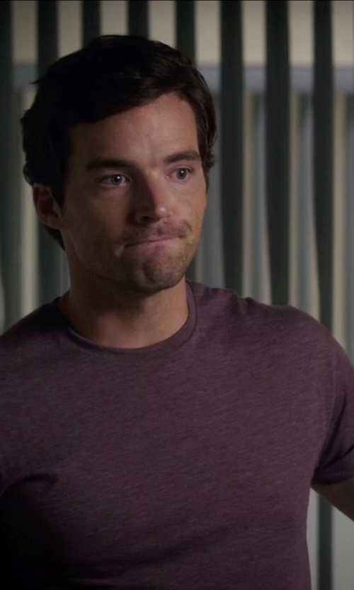 Ian Harding with Agave Joseph Shirt in Pretty Little Liars
