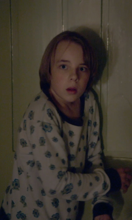 Ed Oxenbould with Mirtillo Long Sleeves T-Shirt in The Visit