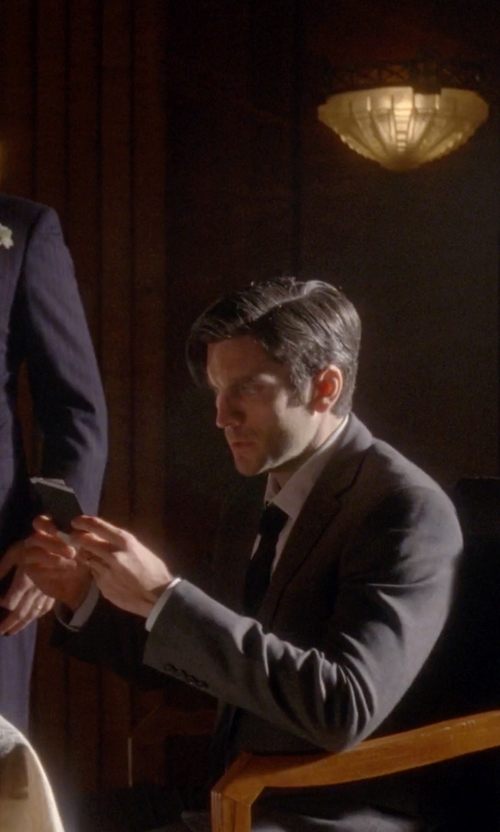 Wes Bentley with Canali Two Piece Suit in American Horror Story
