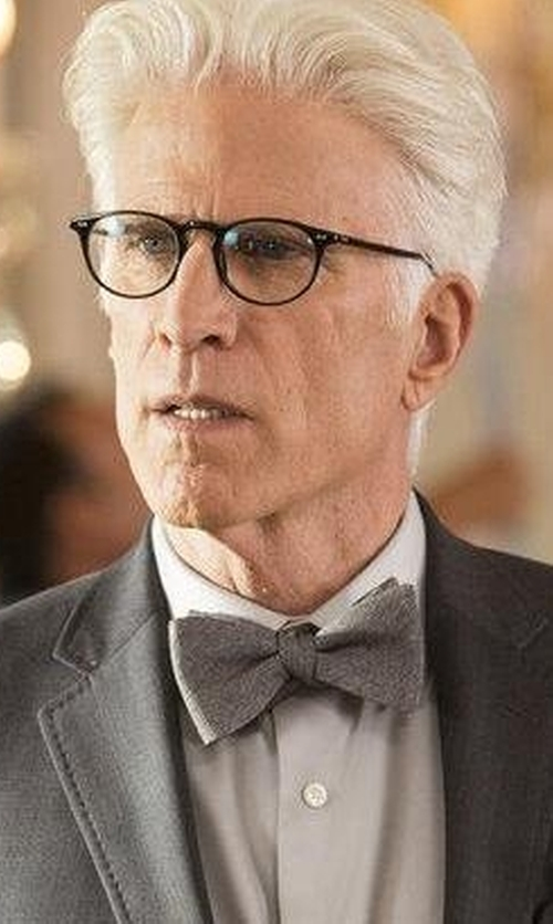Ted Danson with Alfani Spectrum Seasonal Solid Pre-Tied Bow Tie in The Good Place