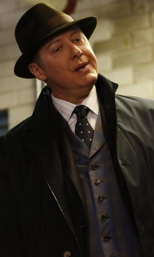 James Spader with John W. Nordstrom 'Wolfe Medallion' Silk Tie in The Blacklist