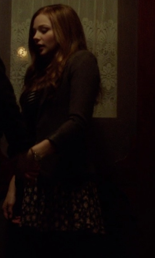 Chloë Grace Moretz with Pins And Needles Floral Circle Skirt in If I Stay