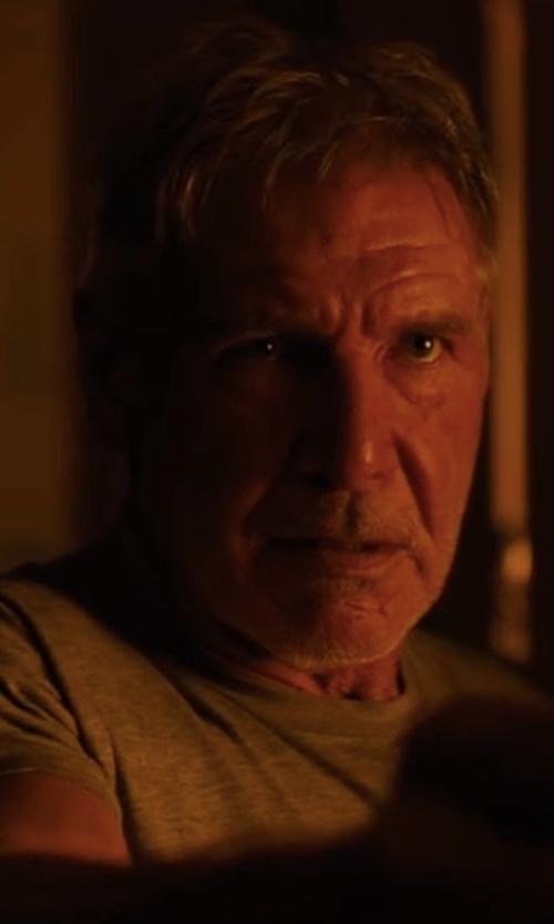 Harrison Ford with John Elliott Classic Crew Shirt in Blade Runner 2049