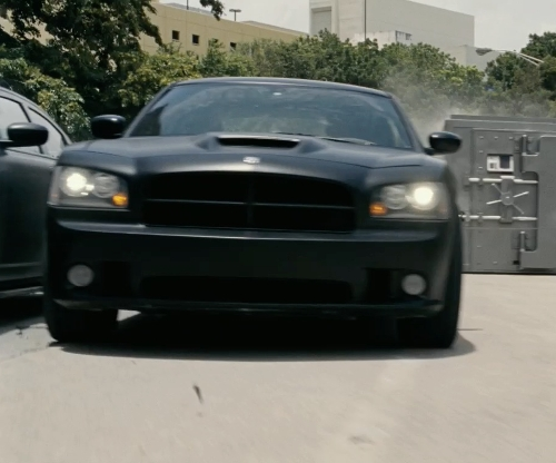 Paul Walker with Dodge 2012 Charger Police in Fast Five