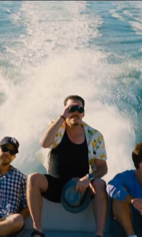 Kevin Dillon with Daniele Alessandrini Bermuda Shorts in Entourage