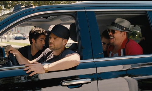 Jerry Ferrara with Cadillac Escalade SUV in Entourage