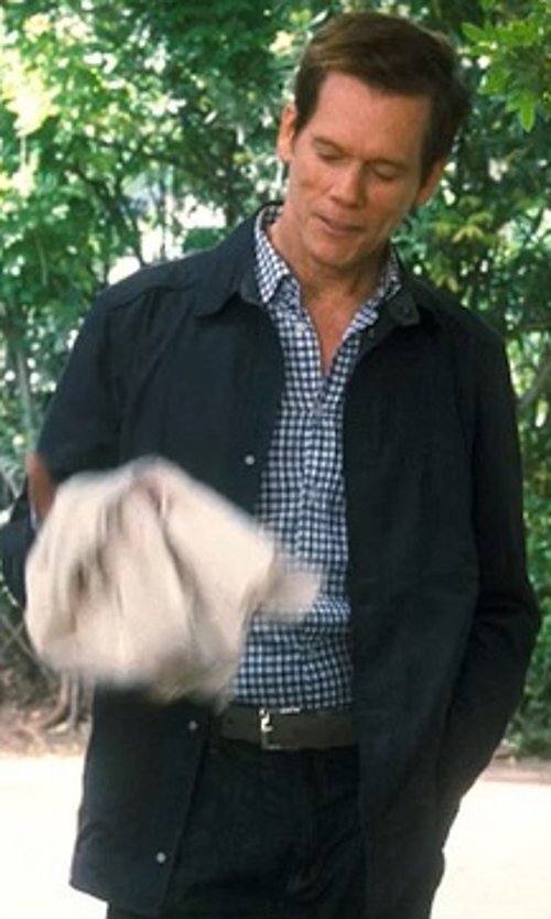 Kevin Bacon with Alternative Herringbone Shirt Jacket in Crazy, Stupid, Love.
