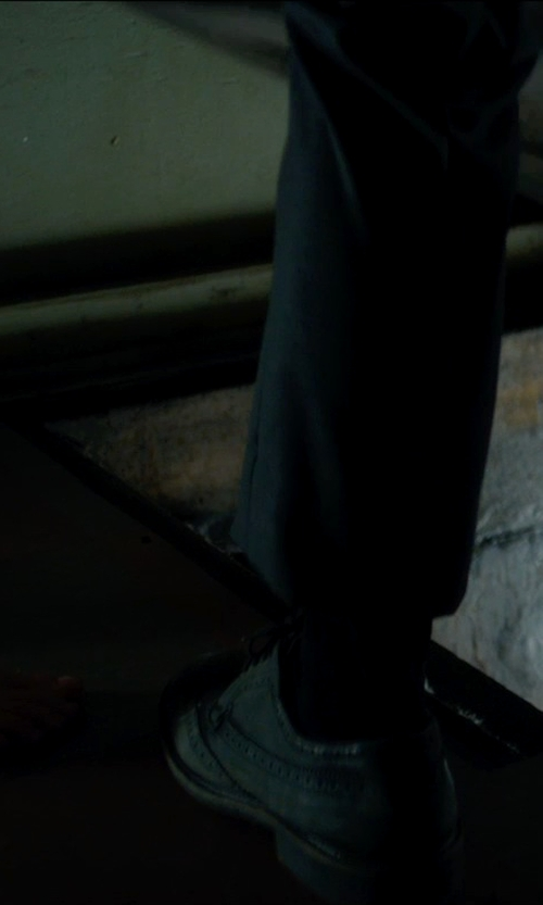 Lucas Jade Zumann with Umi Kids Witton III Oxford Shoes in Sinister 2