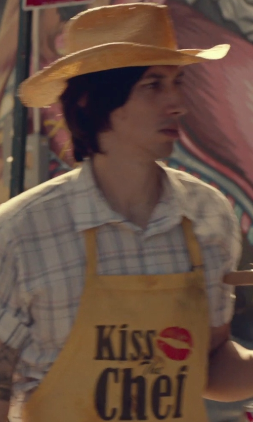 Adam Driver with Zazzle Kiss the Chef Apron in While We're Young