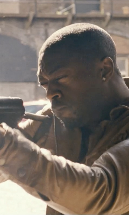 David Ajala with Versus by Versace Men's Black Rubber Chronograph Watch in Fast & Furious 6
