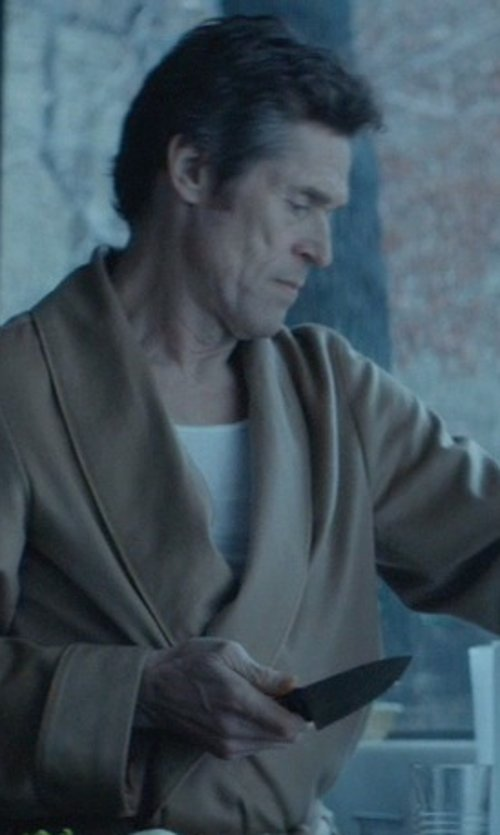 Willem Dafoe with Shun Sora Chef's Knife in John Wick