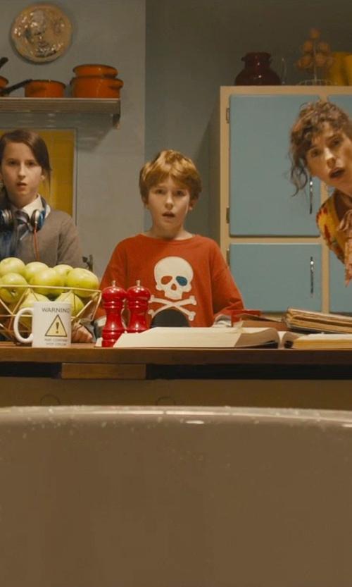 Samuel Joslin with Pirates & Anchors Skull & Crossbones Kids Long Sleeve T-Shirt in Paddington