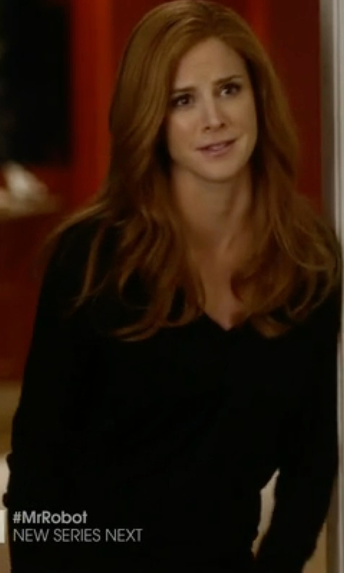 Sarah Rafferty with The Row 'Lucia' Dress in Suits