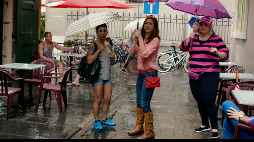 Brittany Snow with Shellys London Antlova Tall Shaft Boots in Pitch Perfect 2