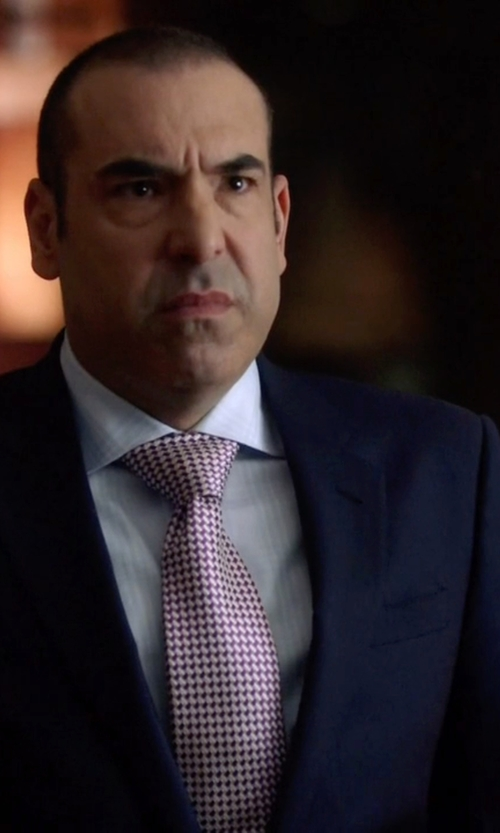 Rick Hoffman with English Laundry Trim Fit Solid Wool Suit in Suits