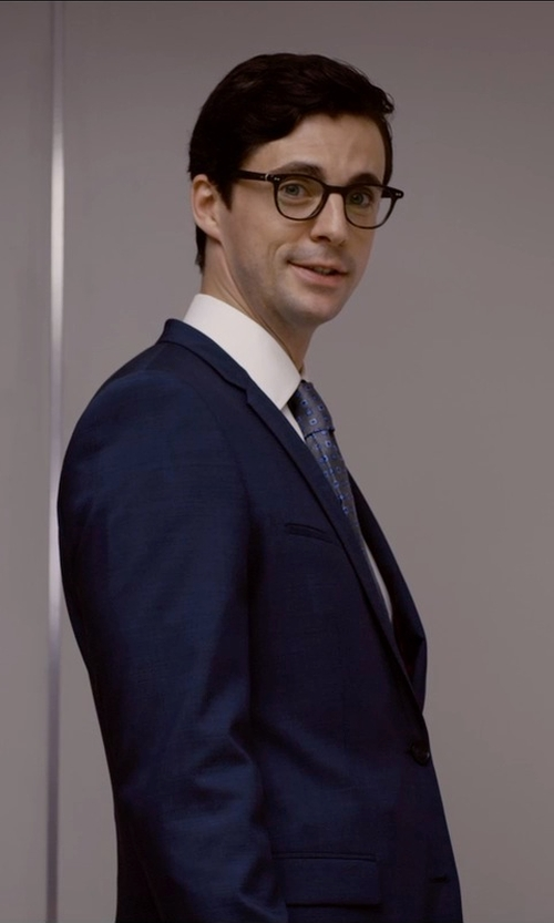 Matthew Goode with Oliver Peoples Gregory Peck Optical Glasses in Self/Less