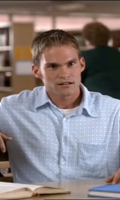 Seann William Scott with Robert Graham Maro Reef Button Down Shirt in American Pie
