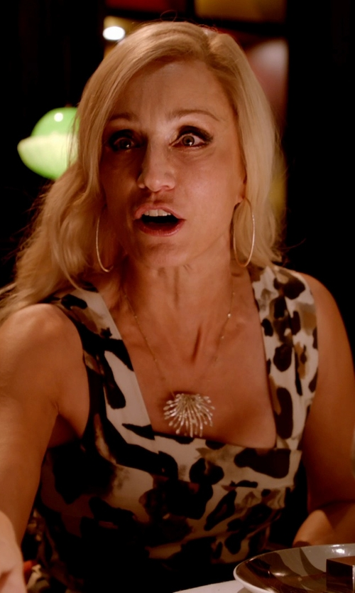 Kristin Scott Thomas with Pamela Love Champagne Diamond & White Gold Arch Necklace in Only God Forgives