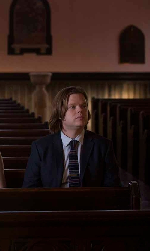 Elden Henson with Ann Demeulemeester Portnoy Two-Button Suit in Daredevil