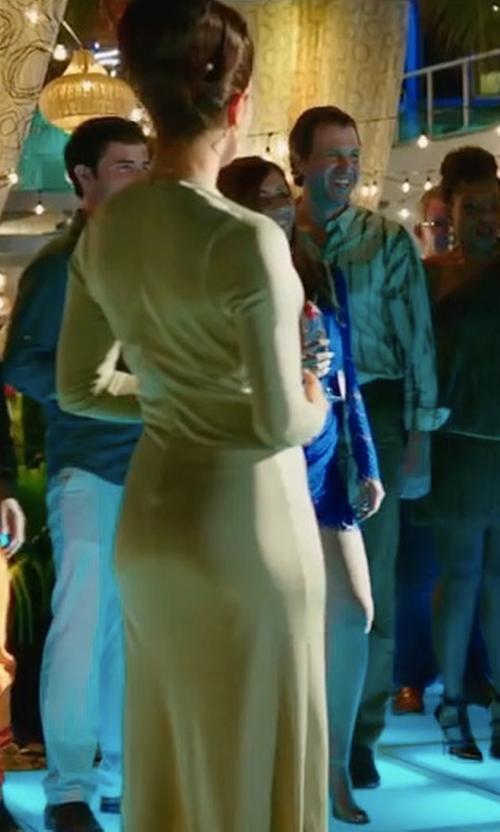 Priyanka Chopra with Young Fabulous & Broke Mariel Dress in Baywatch
