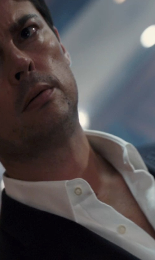 Karl Urban with Brioni	 French-Cuff Dress Shirt in The Loft