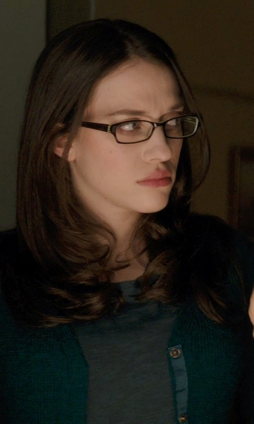Kat Dennings with Parosh Cardigan in Thor: The Dark World