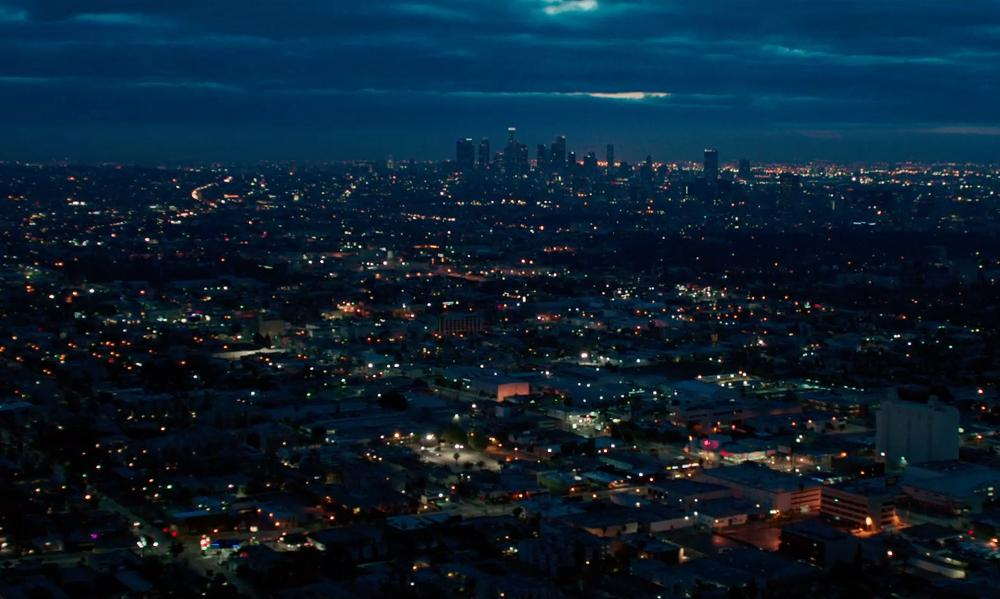 Los Angeles California, USA in The Purge: Anarchy