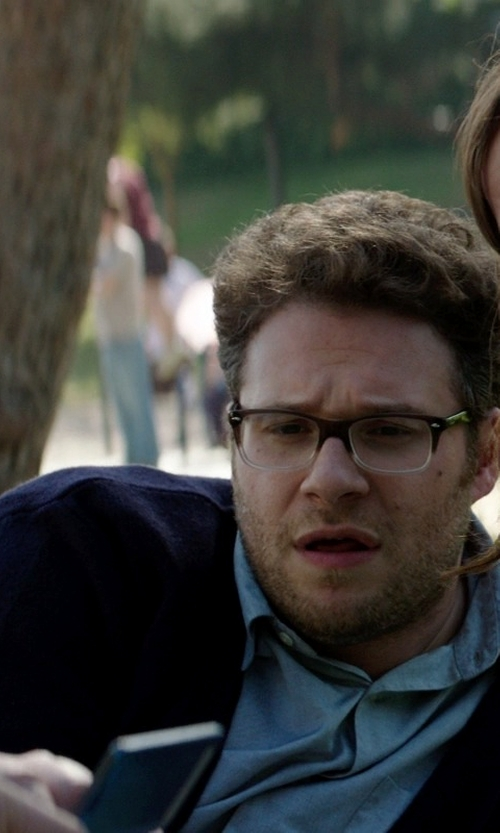 Seth Rogen with Gant Yale Archive Regular Fit Soft Oxford Sport Shirt in Neighbors