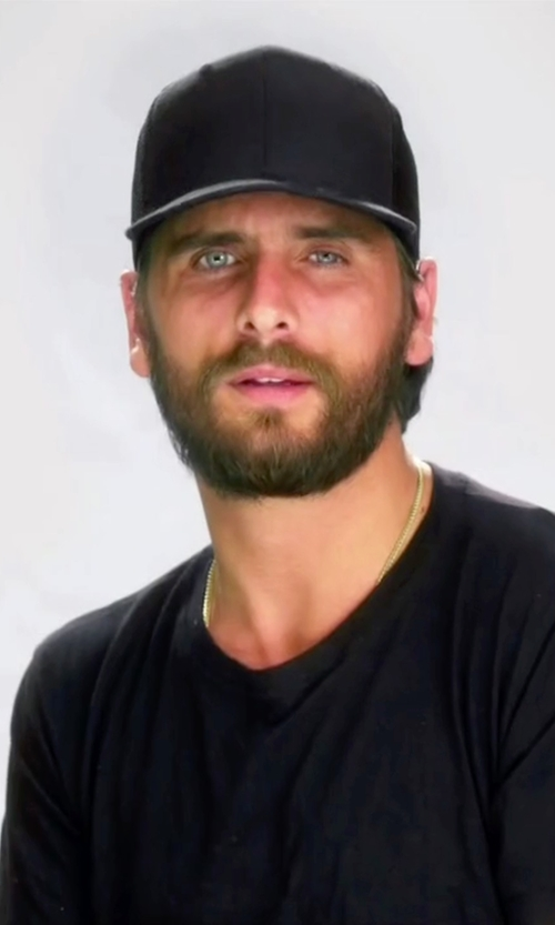 Scott Disick with James Perse Double Face Knit Trucker Hat in Keeping Up With The Kardashians