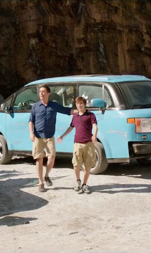 Skyler Gisondo with New Balance Suede Sneakers in Vacation