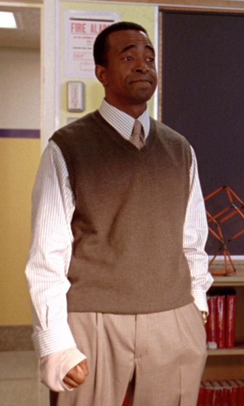 Tim Meadows with Hugo Boss Solid Dress Pants in Mean Girls