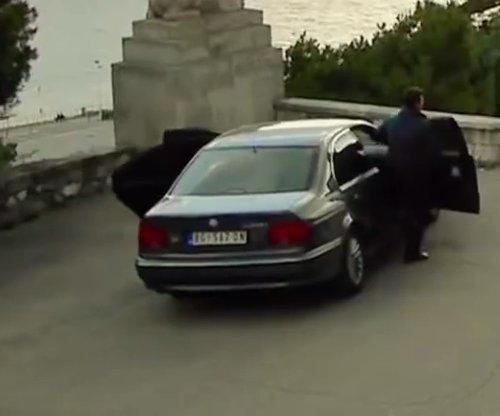Unknown Actor with BMW 760Li Sedan in The November Man
