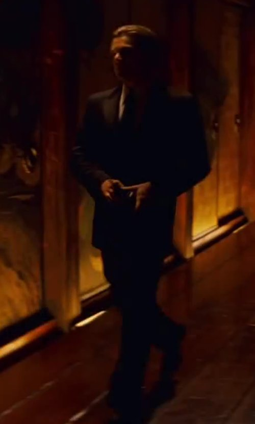 Leonardo DiCaprio with CROCKETT & JONES 'Audley' Oxford Shoe in Inception