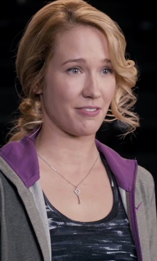 Anna Camp with New Balance Fashion Print Tank Top in Pitch Perfect
