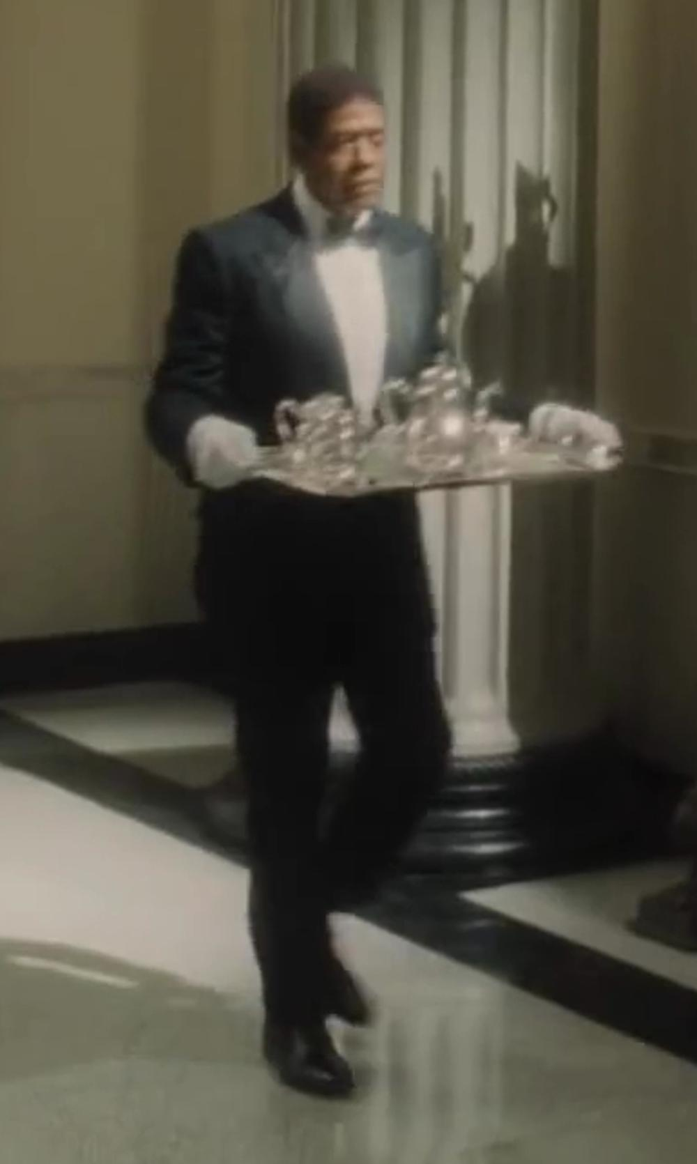 Forest Whitaker with Ecco Cairo Perforation Slip On in Lee Daniels' The Butler