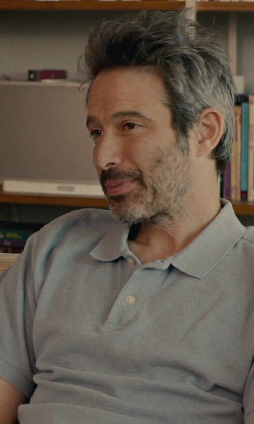 Unknown Actor with Polo Ralph Lauren Slim-Fit Cotton-Piqué Polo Shirt in While We're Young