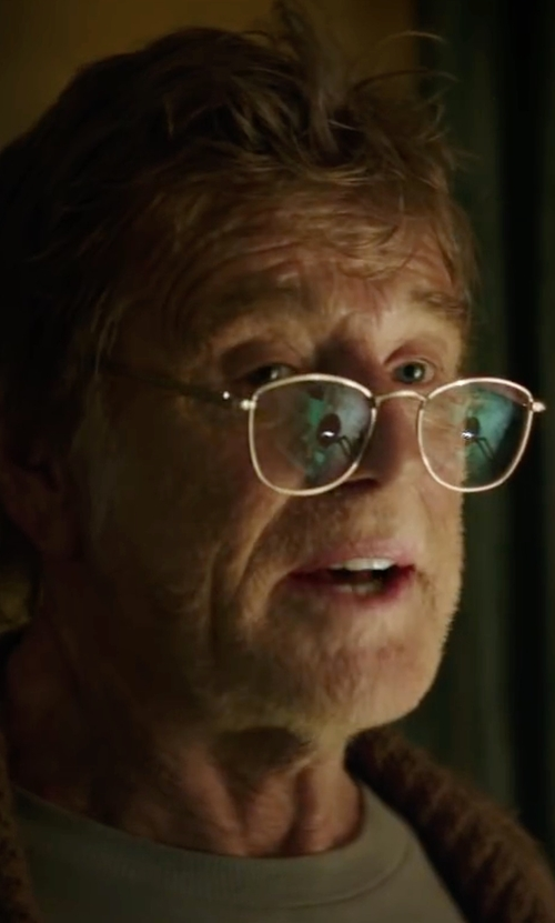 Robert Redford with Oliver Peoples Roland Round Fashion Glasses in Pete's Dragon