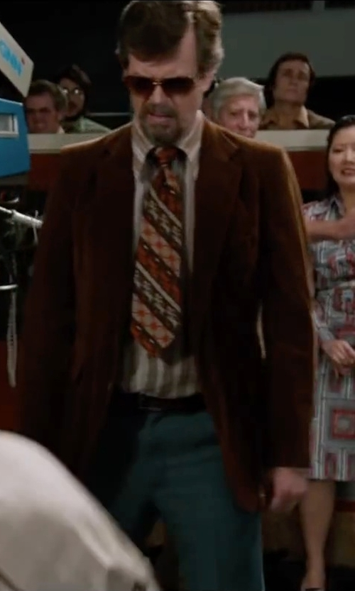 Dylan Baker with Linea Pelle Casual Belt with Brushed Buckle in Anchorman 2: The Legend Continues