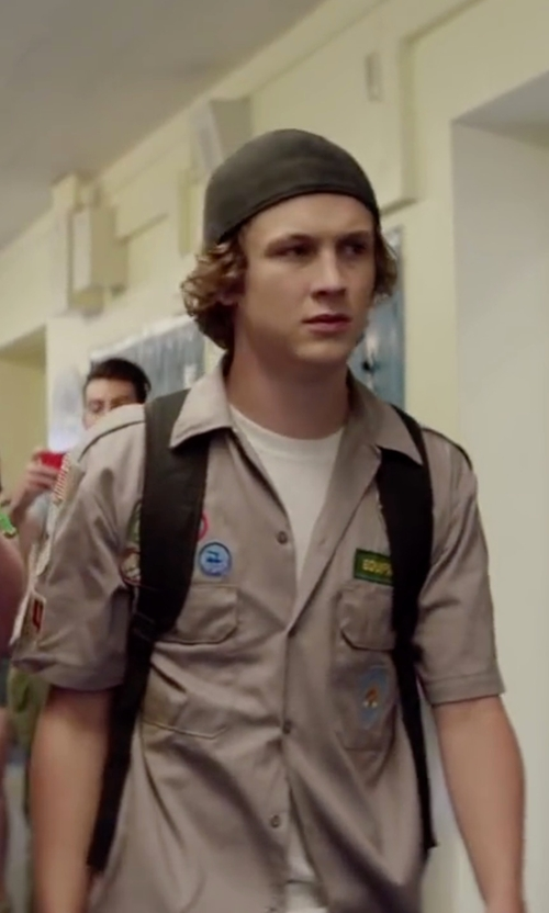 Logan Miller with New Era Chicago White Sox  Snapback Cap in Scout's Guide to the Zombie Apocalypse