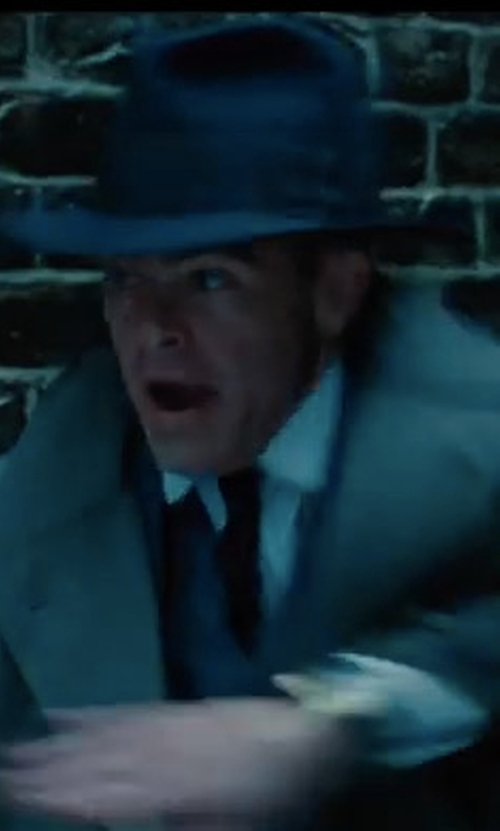 Chris Pine with Brixton Dalila Hat in Wonder Woman
