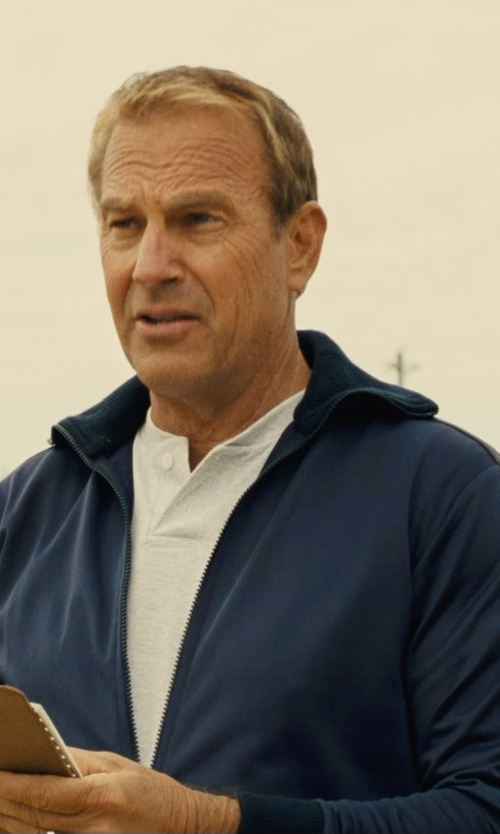 Kevin Costner with Adidas Post Game Track Jacket in McFarland, USA
