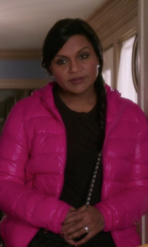 Mindy Kaling with The North Face Tonnerro Jacket in The Mindy Project