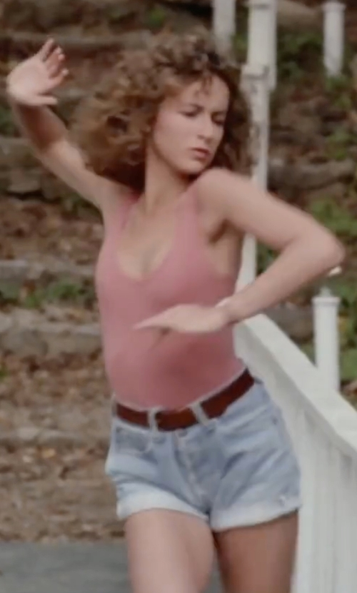 Jennifer Grey with Linea Pelle Perry Versatile Hip Belt in Dirty Dancing