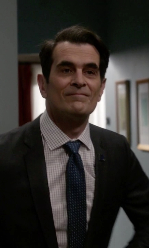 Ty Burrell with English Laundry Check Dress Shirt in Modern Family
