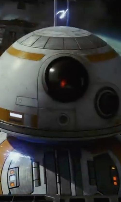 Concept Artist with Christian Alzmann (Concept Artist) BB-8 Droid in Star Wars: The Last Jedi