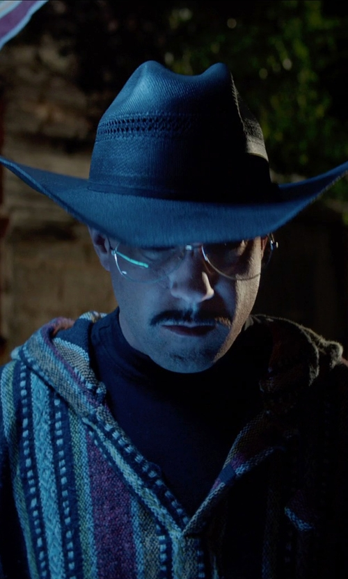 Jason Sudeikis with Justin Durango Cattle Man Western Hat in Masterminds
