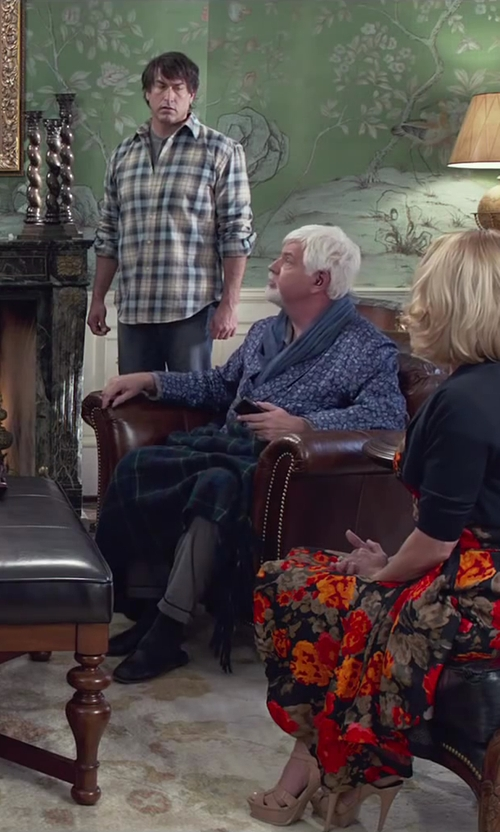 Steve Tom with Barneys New York End-On-End Pajama Pants in Dumb and Dumber To