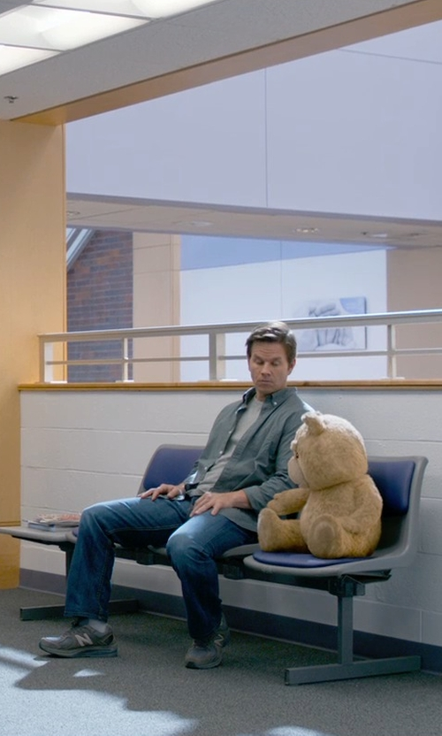 Mark Wahlberg with New Balance 990 Running Shoes in Ted 2